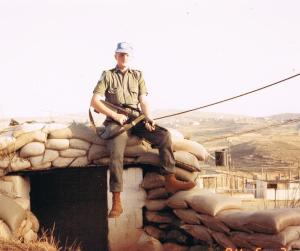 Michael J. Whelan - Poet, South Lebanon -1994